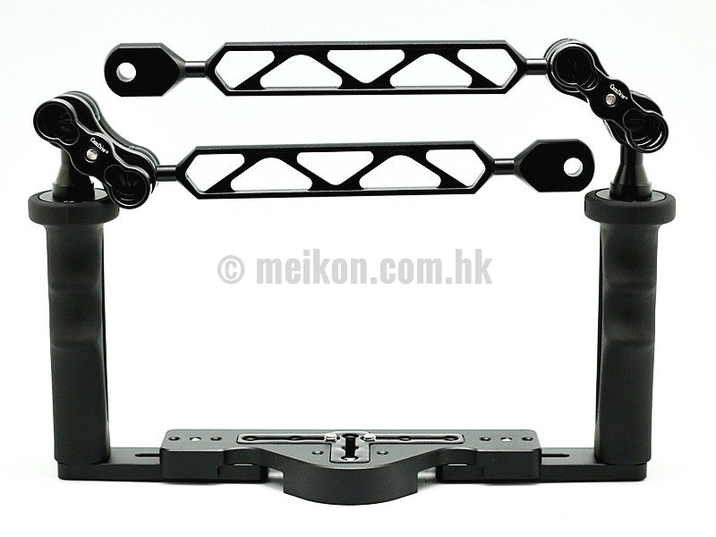 Full Aluminium Tray for underwater camera housing ( YS arm setup )