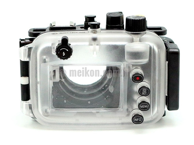 Canon PowerShot G9X & G9X II 40m/130ft Meikon Underwater Camera Housing