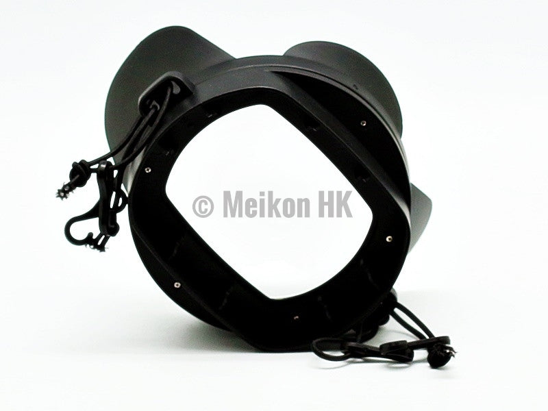 Wide Angle Wet Correctional Dome Port Lens (Square Adapter)