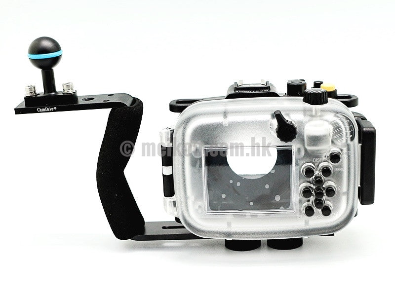 Sony DSC-HX90 40m/130ft Meikon Underwater camera housing aluminium handle kit