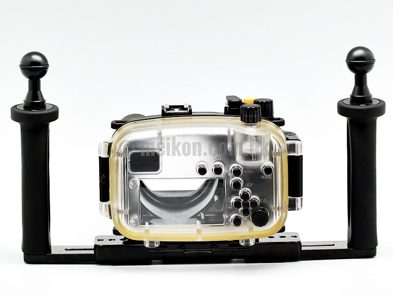 Sony NEX 6 (18-55) 40m/130ft Meikon Underwater camera housing aluminium tray kit