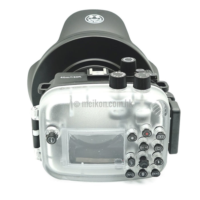 Canon EOS M3 40m/130ft Meikon Underwater Camera Housing with Dry dome port V.4
