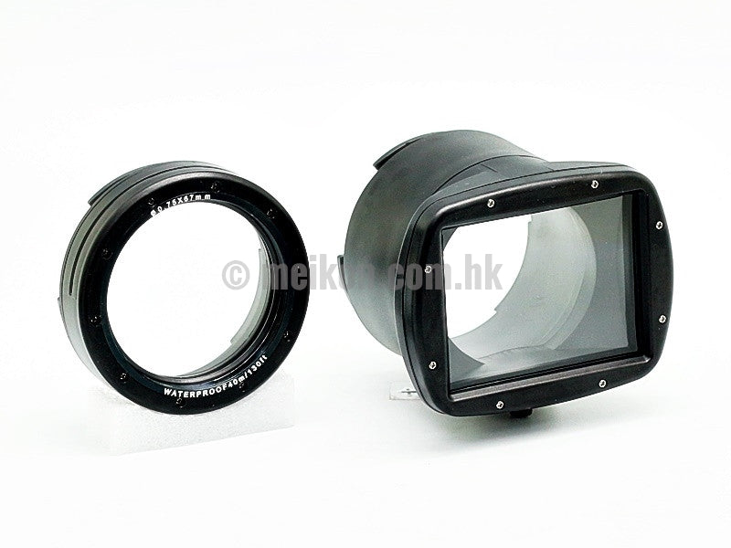 Canon EOS M3 double port kit (22mm + 18-55mm) 40m/130ft Meikon Underwater Camera Housing