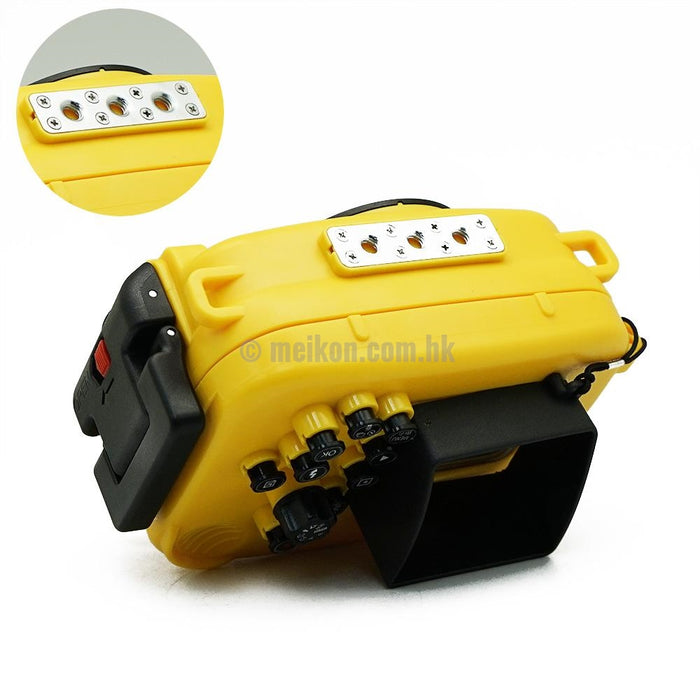Olympus TG-3 & TG-4 60m/195ft SeaFrogs Underwater Camera Housing (Yellow)