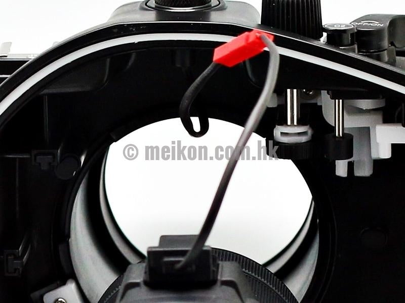 Sony A7R II / A7S II 40m/130ft Meikon Underwater Camera Housing