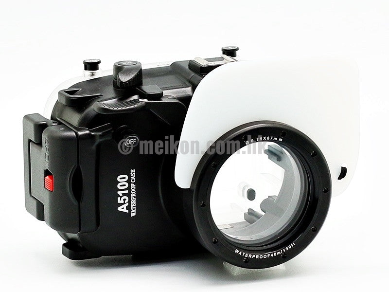 Sony A5100 40m/130ft Meikon Underwater Camera Housing