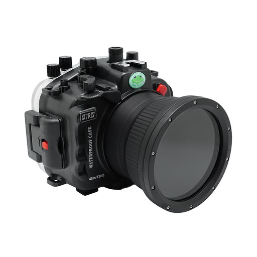 Sony A7R IV V.2 Series 40M/130FT Underwater camera housing (Standard port) Zoom ring for FE16-35 F4 included