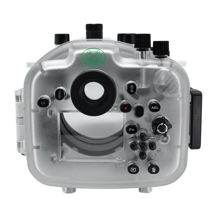 Sony A7R IV V.2 Series 40M/130FT Underwater camera housing (Standard port) Zoom ring for FE16-35 F4 included. White