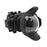"Sony A7 NG Series UW camera housing with 6"" Dome port (Including Standard port) Black"
