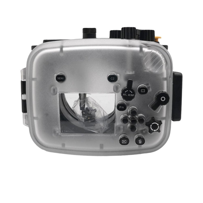 Sony A7 NG Series 40M/130FT Underwater camera housing (Standard port) Black