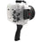 Sony A7 NG Series 40M/130FT Underwater camera housing with pistol grip (Long port) White