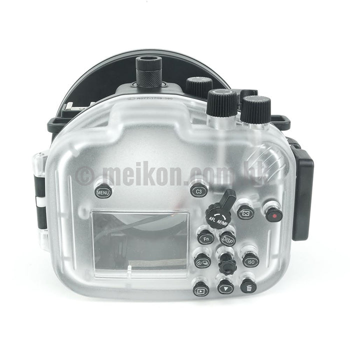 "Sony A7R II / A7S II 40M/130FT Underwater camera housing kit with SeaFrogs 6"" Dry dome port"