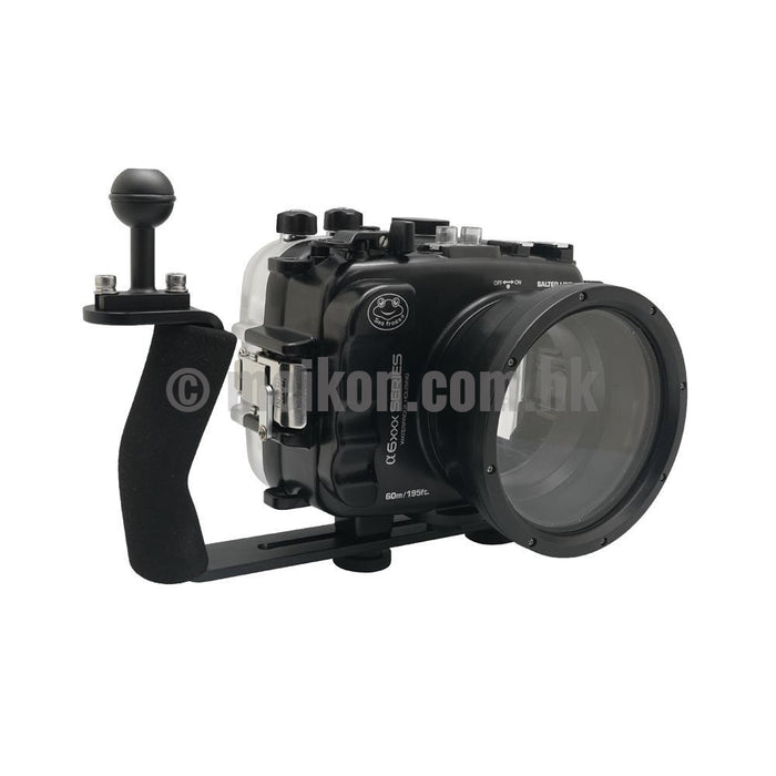 Aluminium diving grip for UW camera housings Ver.II - Display model