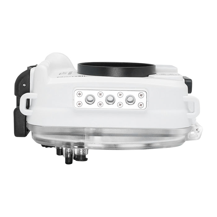 Olympus TG-6 60m/195ft SeaFrogs Underwater Camera Housing (White)