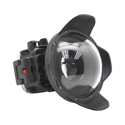 Canon EOS M6 40m/130ft Underwater Camera Housing with Dry dome port