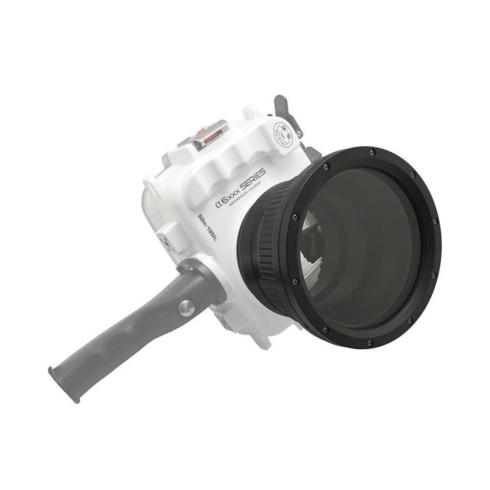 Flat long port for A6xxx series Salted Line (18-105mm & 18-135mm/16-70mm lenses) waterproof housing 40M/130FT - A6XXX SALTED LINE