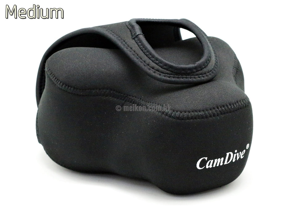 Neoprene cover for use with underwater housing ( M )
