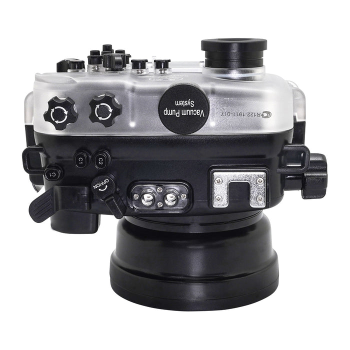 SeaFrogs 60M/195FT Waterproof housing for Sony A6xxx series Salted Line