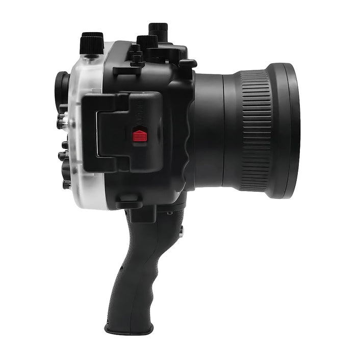 Sony A7 II NG V.2 Series 40M/130FT Underwater camera housing with pistol grip (Standard port) Black