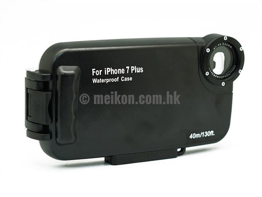 iPhone 7 Plus & 8 Plus 40m/130ft Meikon Underwater Black Case