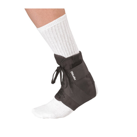 Soft Ankle Brace with straps-Mueller® - Prime Medical Supplies