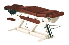 Manual Pump Elevation Chiropractic Table-Elite® - Prime Medical Supplies