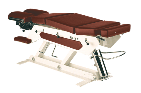 Elite® Manual Pump Elevation Chiropractic Table