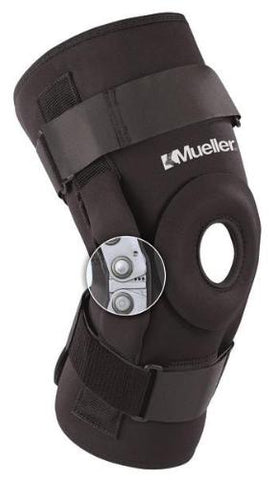 Pro-Level Hinged Knee Brace Deluxe-Mueller® - Prime Medical Supplies