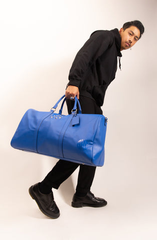 Adonis King Collection Blue Keeper 21 Duffle Bag