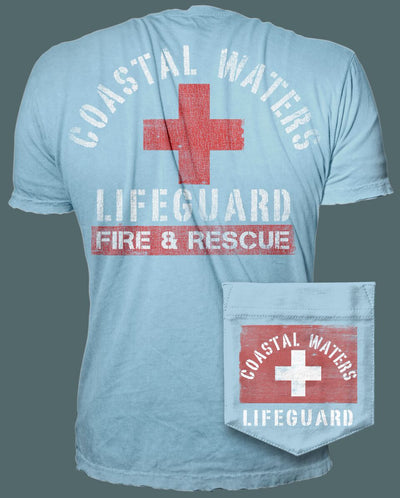 Lifeguard Pocket Tee - Titanium