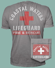 Load image into Gallery viewer, Lifeguard Pocket Tee - Dusk Blue