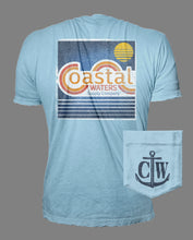 Load image into Gallery viewer, CW Vintage Pocket Tee - Dusk Blue