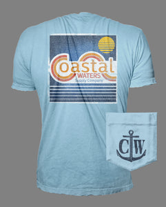CW Vintage Pocket Tee - Dusk Blue