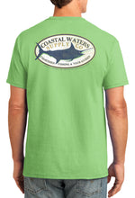 Load image into Gallery viewer, Charter Marlin Pocket Tee - Greenery
