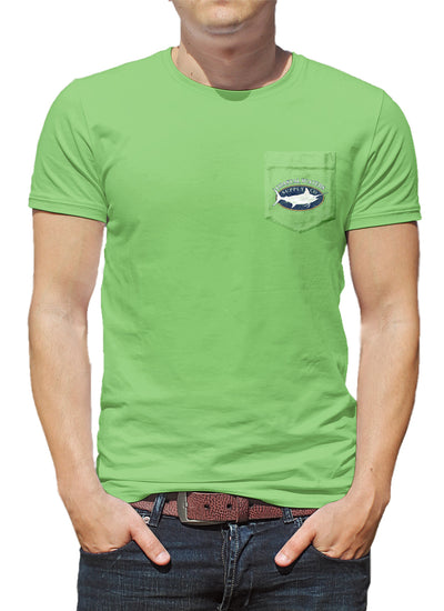 Charter Marlin Pocket Tee - Greenery