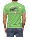 Fly Fishing Coastal Waters Pocket Tee Greenery