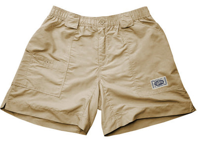 Coastal Waters Long Patch Short - Black