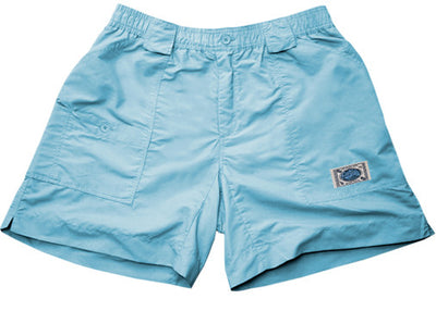 Coastal Waters Long Patch Short - Sky Blue