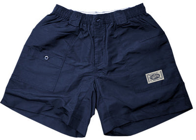 Coastal Waters Long Patch Short - Khaki