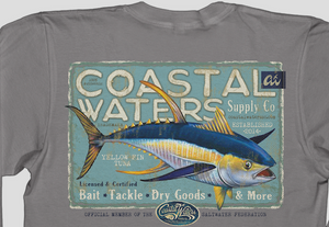 Tuna Supply Pocket Tee - Titanium