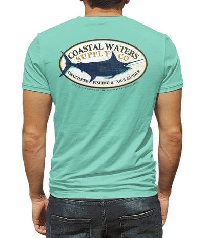 Charter Marlin Pocket Tee - Lucite Green