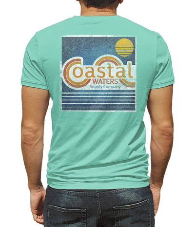 CW Vintage Pocket Tee - Lucite Green