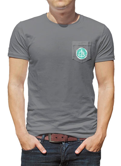 Bronco Pocket Tee - Titanium