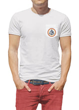 Load image into Gallery viewer, Vintage Coastal Waters Pocket Tee White