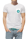 Coastal-fornia Coastal Waters Pocket Tee White