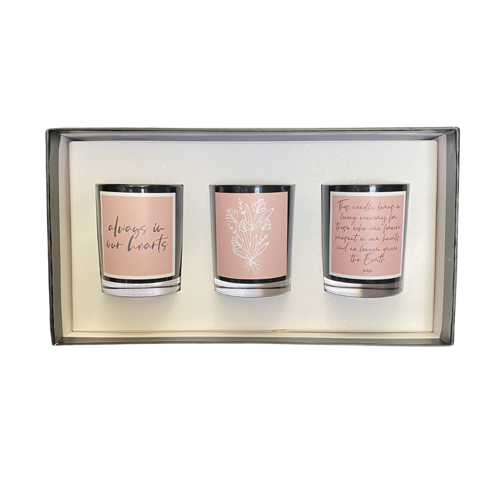 In Our Hearts Sympathy Candle Pack