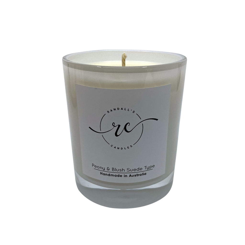 White Oxford Soy Candle