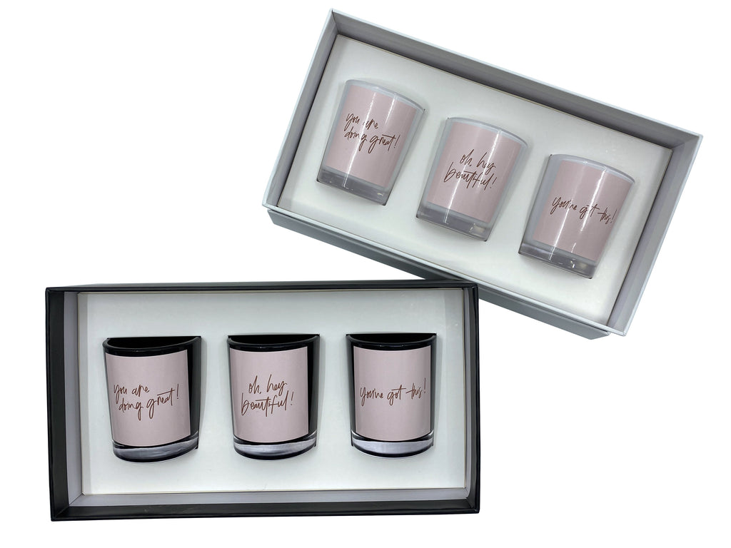 Simple Reminder Candle Gift Set