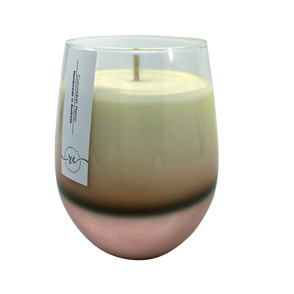Ombre Candle Rose Gold