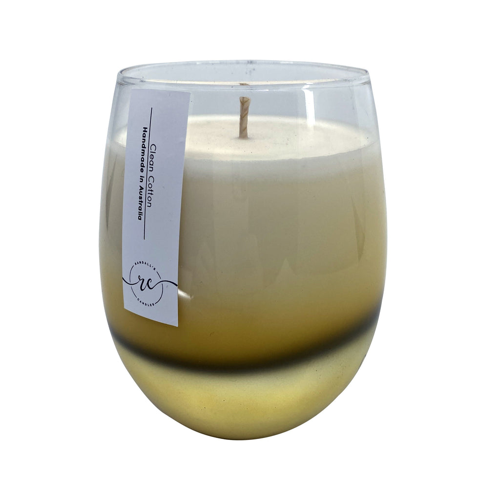 Ombre Gold Candle Renee Jar